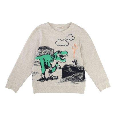 Billybandit T-Rex Pixel Sweatshirt-listing