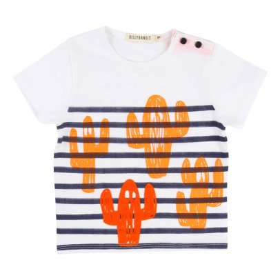 Billybandit Striped Cactus T-Shirt-listing