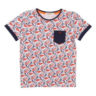 Billybandit T-Shirt Allover Leopard Masqué-listing