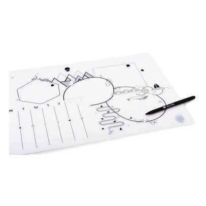 Superpetit Sous-main et son stylo-listing