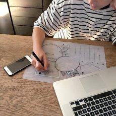 Superpetit Schreibunterlage und Stift -listing
