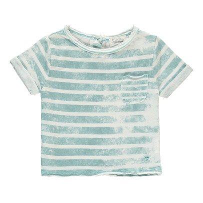 Tocoto Vintage T-shirt Rayé Poche-listing
