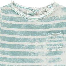 Tocoto Vintage Camiseta Rayas Bolsillo-listing