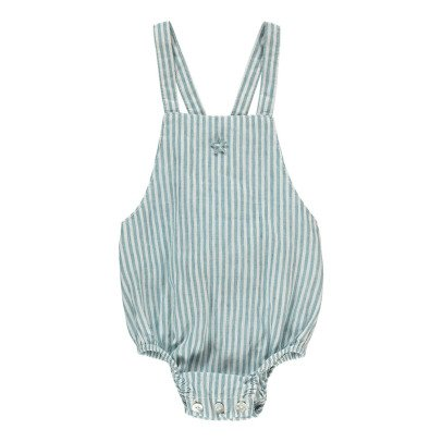 Tocoto Vintage Striped Romper-product