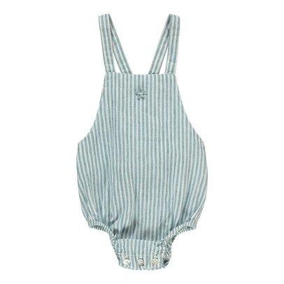 Tocoto Vintage Striped Romper-listing
