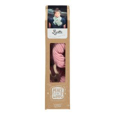 Peace and Wool Pale Pink Lucette DIY Knitting Kit-listing
