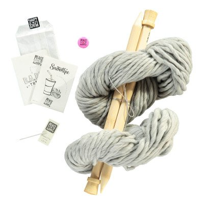 Peace and Wool Kit Diy tricot snood Snoothie-listing