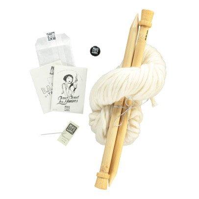 Peace and Wool Kit DIY Tricot Los mininos-listing