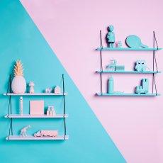 Rose in April Babou 1 Story Shelf 85cm-listing