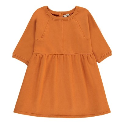Caramel Emerald Fleece Dress-listing