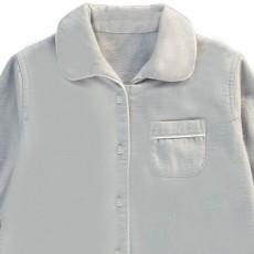 Caramel Pyjama Boutonné Gris clair-listing