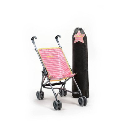 Minikane Diamond Fluo Limited Edition Toy Pushchair-listing