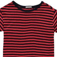 Les coyotes de Paris Isabel Striped Linen T-Shirt-listing