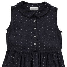 Les coyotes de Paris Helene Polka Dot Silk Dress-listing