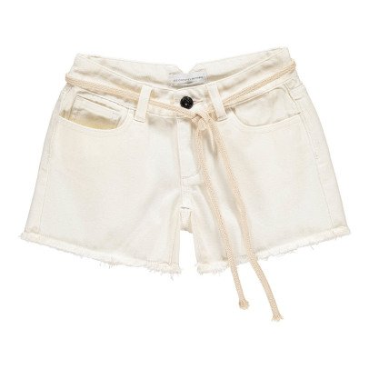 Les coyotes de Paris Shorts Denim Frange-listing