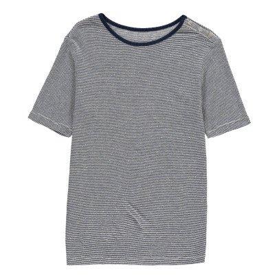 Les coyotes de Paris Lily Striped T-Shirt-listing