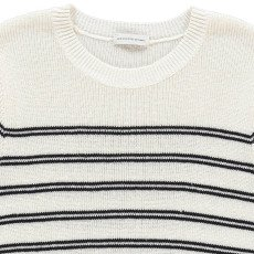 Les coyotes de Paris Adèle Striped Linen Jumper-listing