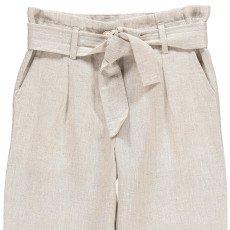 Les coyotes de Paris Ulla Loose Linen and Cotton Trousers-listing