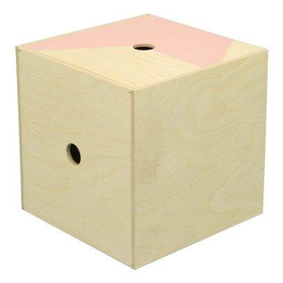 Studio delle alpi Caja de Almacenamiento The Super Box Rosa-listing