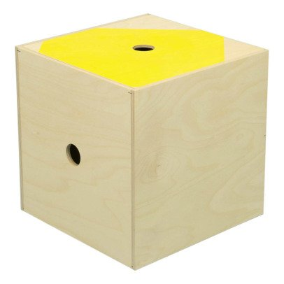 Studio delle alpi Boîte de rangement The Super Box Jaune-listing