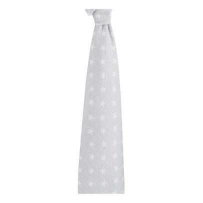 aden + anais  White Star Brushed Cotton Swaddling Blanket-listing