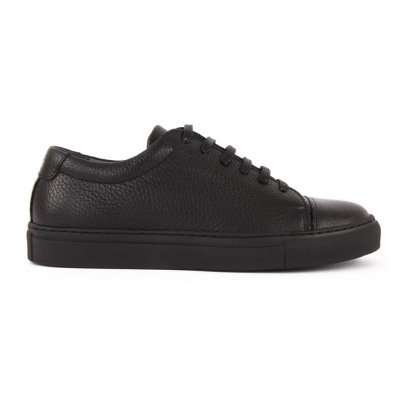 National Standard Baskets Cuir Lacets Edition 3 Noir-listing