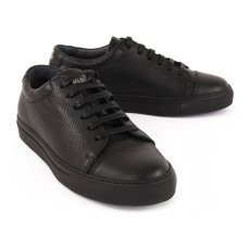 National Standard Leather Lace-Up Edition 3 Trainers Noir-listing