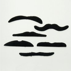Meri Meri Mini crackers moustache - Set de 6-listing