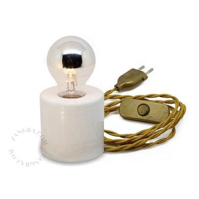 Zangra Lampe aus Porzellan -listing