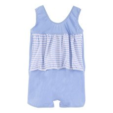 Archimède Cocon Boy Striped 1 Piece Swimsuit-listing