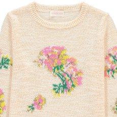 Simple Kids Pullover mit Stickerei Blumen Hawai -listing
