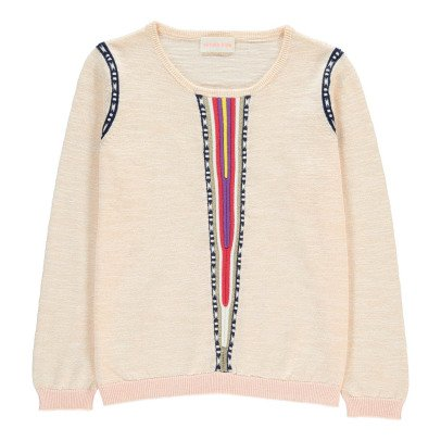 Simple Kids Guinea Embroidered Jumper-listing