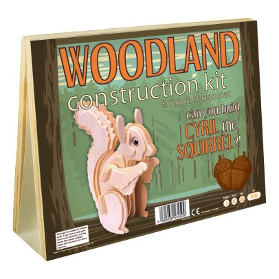 Professor Puzzle Naturel Cyril Squirrel Construction Kit-listing