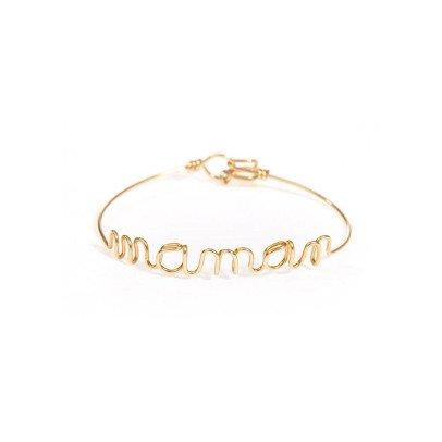 Atelier Paulin Bracelet Fil Maman Cuivre Plaqué Or-listing
