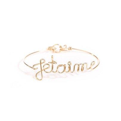 Atelier Paulin Bracelet Fil Je t'aime  Or 14 Carats-listing