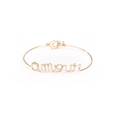 Atelier Paulin Pulsera Amour oro 14 quilates-listing