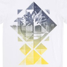 Timberland Camiseta Geométrica Algodón Biológico-listing
