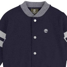 Timberland Baseball Jacket Style Cardigan with Popper Buttons-listing