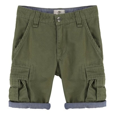 Timberland Cotton Cargo Shorts-listing
