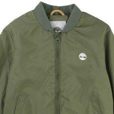 Timberland Hooded Nylon Baseball Jacket-listing