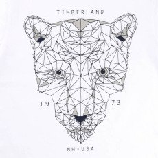 Timberland Camiseta Tigre Algodón Biológico-listing