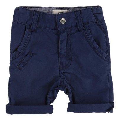 Timberland Organic Cotton Ajustable Waist Chino Shorts-listing