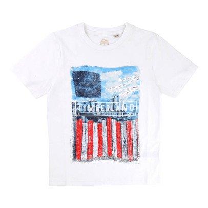 Timberland T-shirt Photo Print Coton Bio-listing