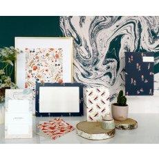 Season Paper Collection Bloc de notas mármol blanco-listing