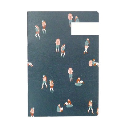 Season Paper Collection Blue Rambler Notebook-listing