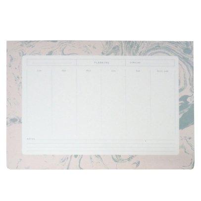 Season Paper Collection Semanario mármol blanco-listing