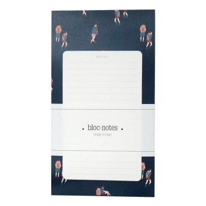 Season Paper Collection Bloc-notes randonneurs Bleu-listing