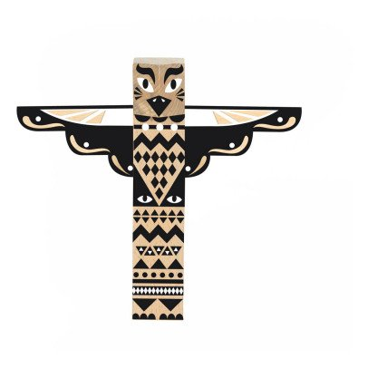 Nobodinoz Wooden Totem Pole-product