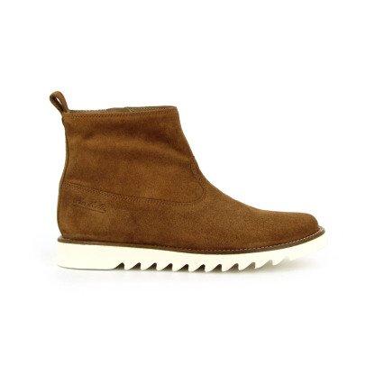 Pom d'Api Boots Suède Zip Ripple-listing