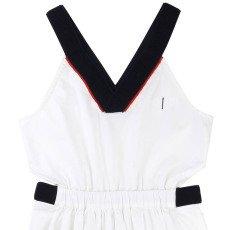 UNE FILLE today I am Embellished V-Neck Dress-listing